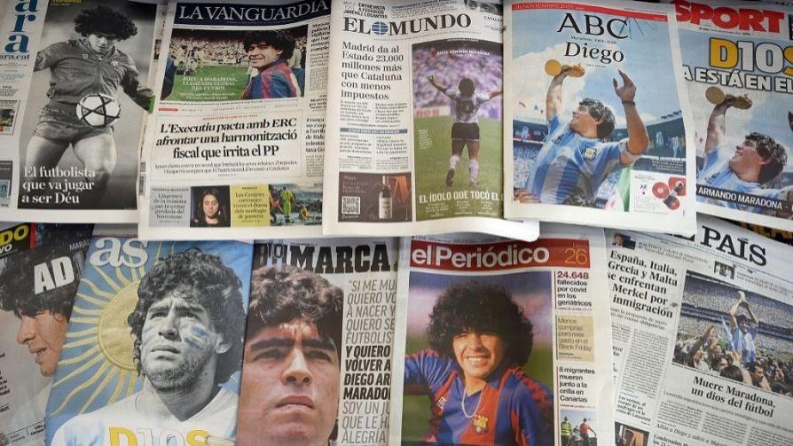 Melodramatón por la muerte de Maradona y un libro para empoderarse a la hora de la alimentación - NTN Concentrado - No Toquen Nada | DelSol 99.5 FM