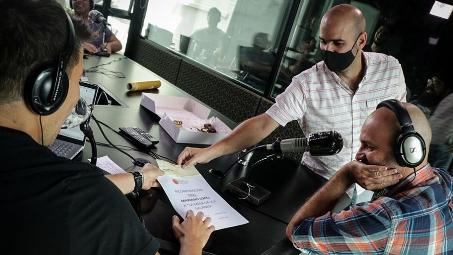 Iñaki le ofreció un contrato a Mariano López - Audios - La Mesa de los Galanes | DelSol 99.5 FM