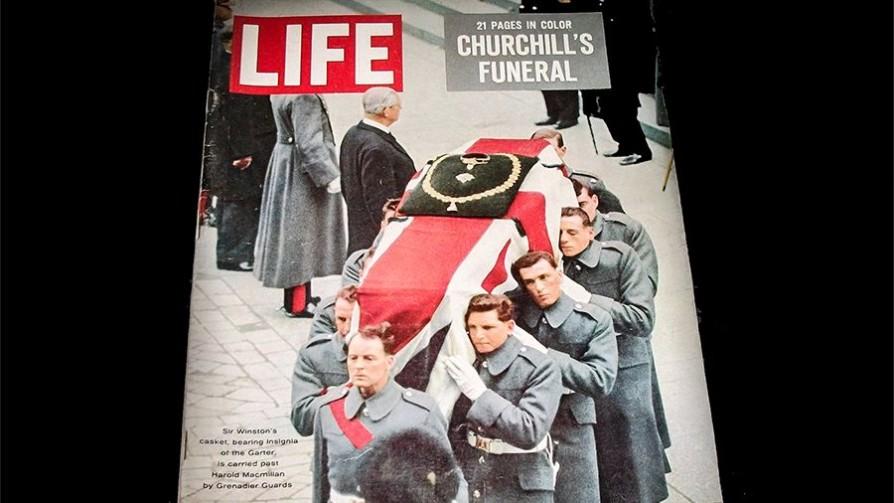 Las icónicas fotos de la Revista Life sobre el funeral de Winston Churchill - Leo Barizzoni - No Toquen Nada   DelSol 99.5 FM