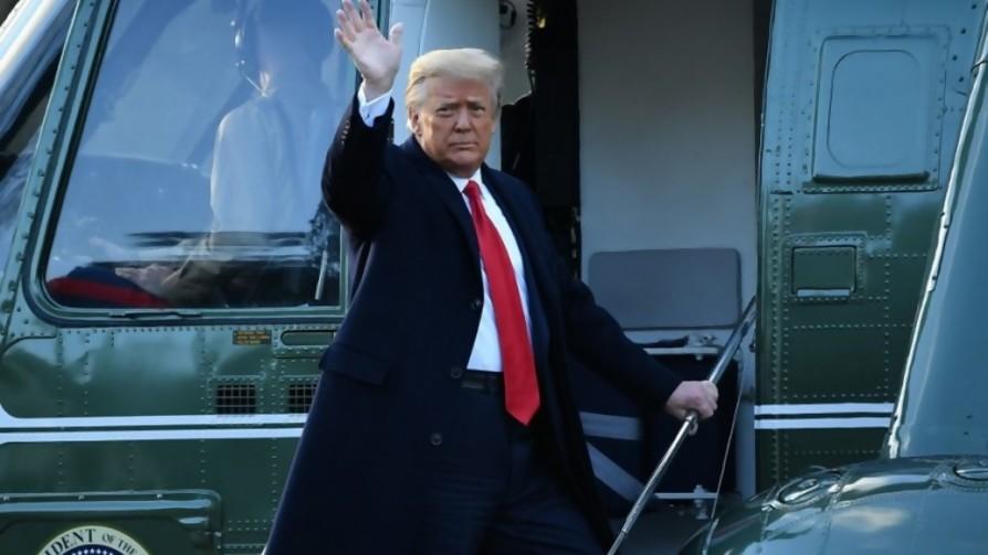 Darwin y la despedida de Trump: unió a los estadounidenses - Columna de Darwin - No Toquen Nada | DelSol 99.5 FM
