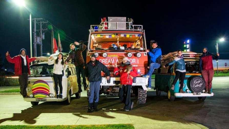 Un camión de bomberos que saca sonrisas donde no existen - Historias Máximas - Quién te Dice | DelSol 99.5 FM