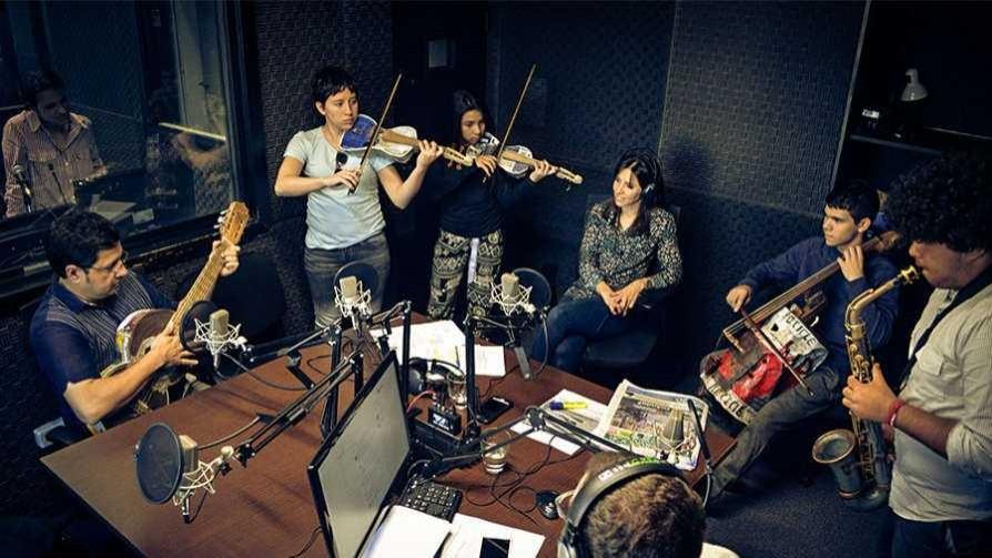 Música con instrumentos reciclados - Audios - Quién te Dice | DelSol 99.5 FM