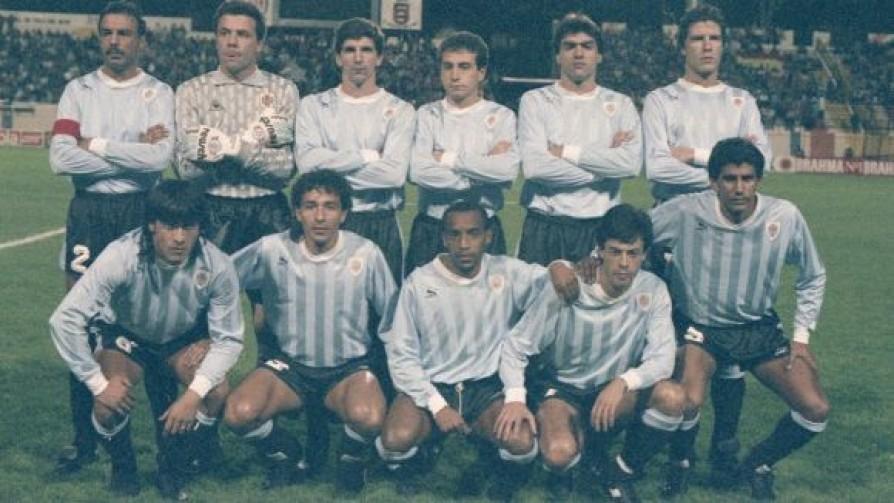 La selección uruguaya en la Copa América 1991 - Los olvidados que dicen presente - Equipo Galáctico   DelSol 99.5 FM