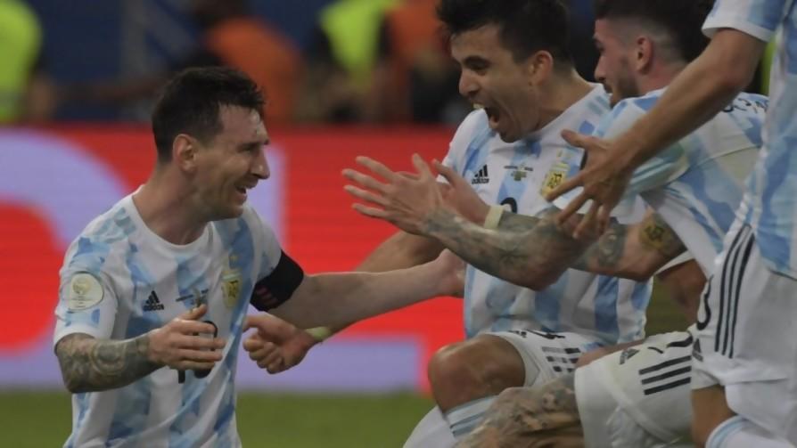 Juanjo Buscaglia feliz por ver a Argentina campeón de la Copa América - Audios - Locos x el Fútbol   DelSol 99.5 FM