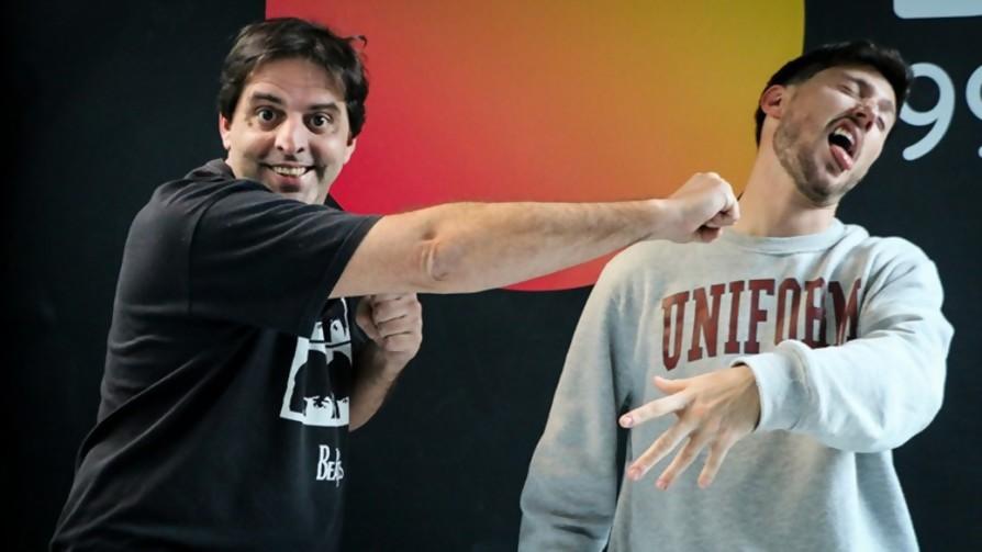 DJ Buenas reta al portador de la corona, DJ Narizguetta - DJ vs DJ - La Mesa de los Galanes   DelSol 99.5 FM