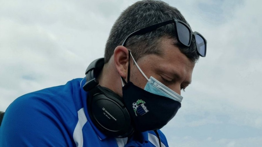 Valentino Perla, el Dj de la cancha negriazul - Audios - Locos x el Fútbol | DelSol 99.5 FM