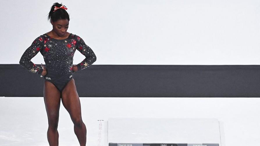 El peso de la gloria: Simone Biles  - A la cancha - 13a0 | DelSol 99.5 FM