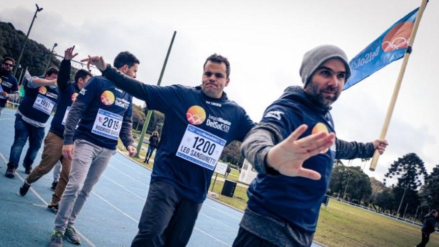 Sebastián Bauzá estuvo en el arranque de los Juegos Olímpicos DelSol2021 - Especiales - Nosotros   DelSol 99.5 FM