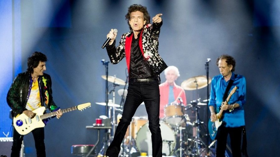 100 % The Rolling Stones - Audios - Suena Tremendo   DelSol 99.5 FM