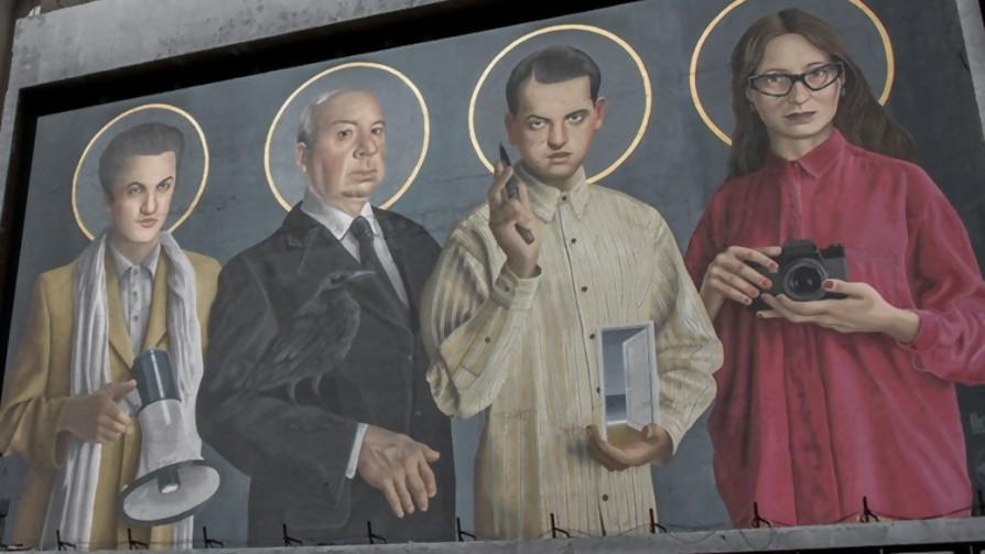¿Quiénes están en la fachada de Cinemateca? - Entrada en calor - 13a0 | DelSol 99.5 FM