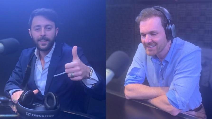 Diego Miranda y Oscar Belo en suplencia de Adrián y Germán - Audios - Locos x el Fútbol   DelSol 99.5 FM