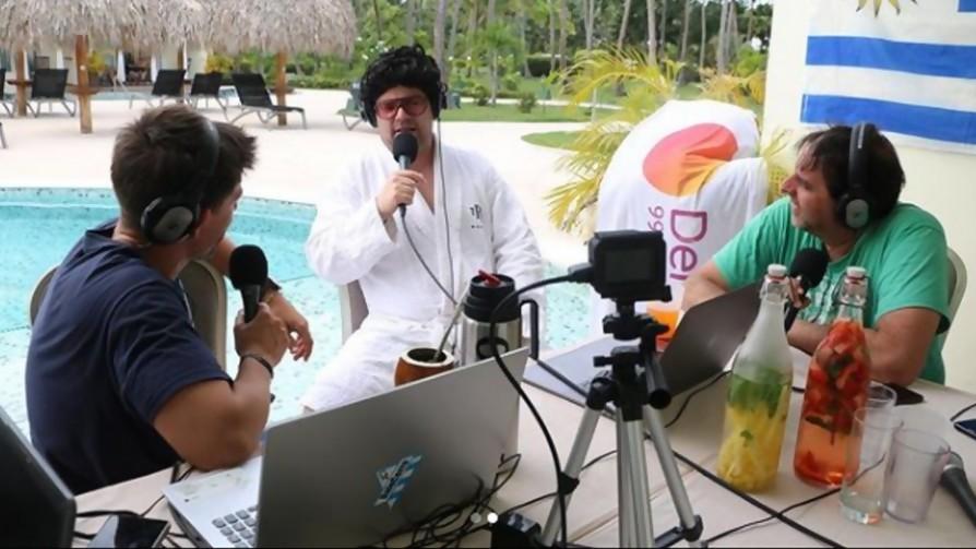 El Tío Aldo contó todo sobre la estadía en Punta Cana - Tio Aldo - La Mesa de los Galanes   DelSol 99.5 FM