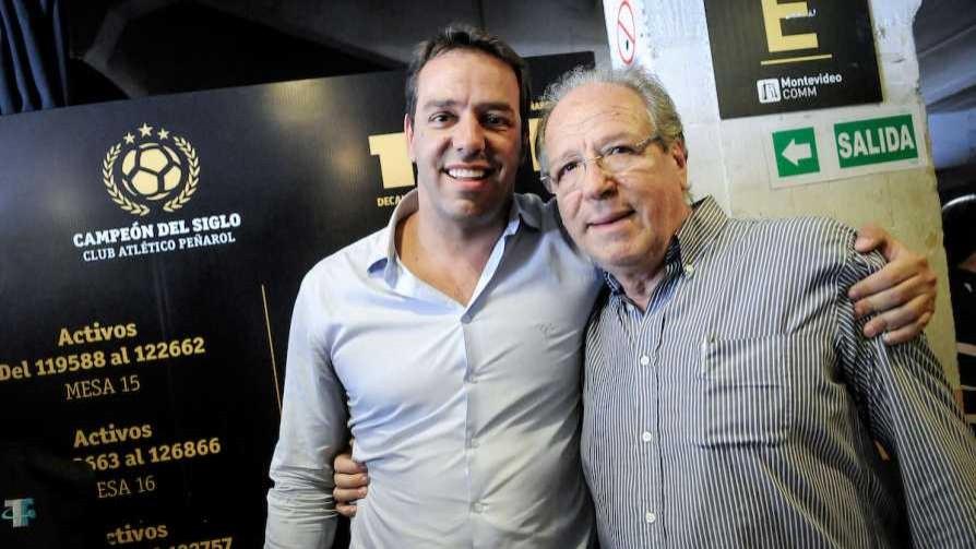 Saludo a Ruglio por el campeonato de Peñarol - Audios - Locos x el Fútbol | DelSol 99.5 FM