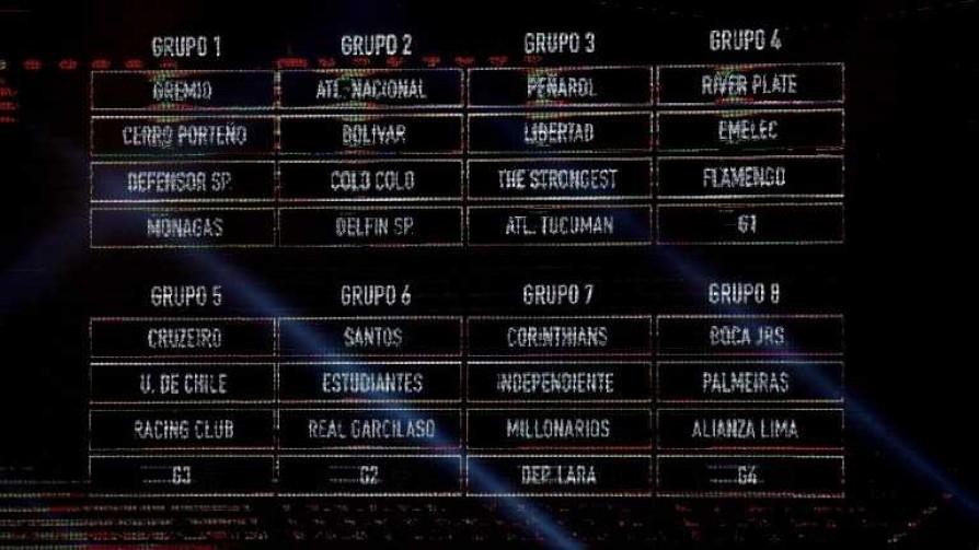 Los uruguayos y los grupos de la Libertadores - Diego Muñoz - No Toquen Nada | DelSol 99.5 FM