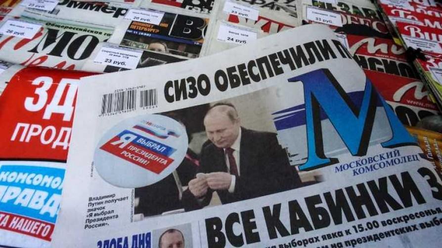 Putin arrasó en las elecciones rusas - Cambalache - La Mesa de los Galanes   DelSol 99.5 FM