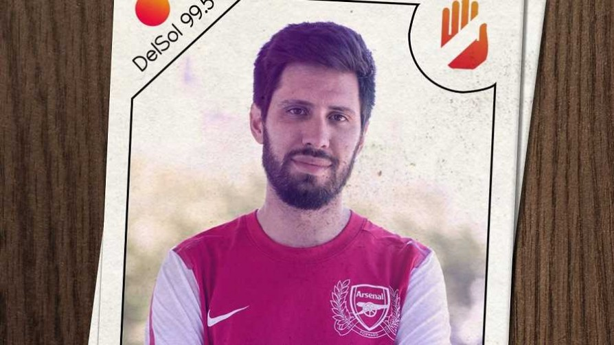 Arsenal: el cuadro con los mejores hinchas músicos del mundo - La camiseta dispersa - No Toquen Nada | DelSol 99.5 FM