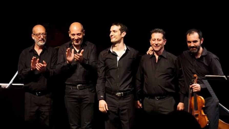 Quinteto Piazzolla llega a Montevideo - Audios - Quién te Dice | DelSol 99.5 FM