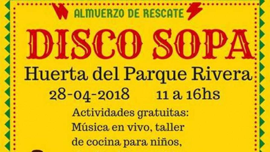 Disco Sopa Huerta del Parque Rivera - Audios - Quién te Dice | DelSol 99.5 FM