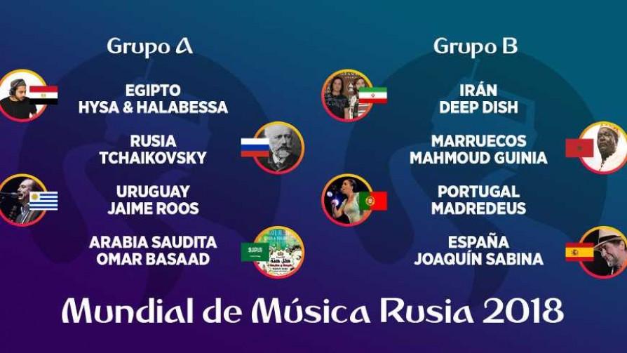 Mundial de Música Rusia 2018 - Grupos A, B, C y D - Versus - Facil Desviarse | DelSol 99.5 FM