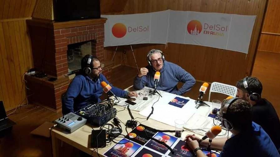 El Profe y Gonza llegaron a Rusia  - Informes - 13a0 | DelSol 99.5 FM