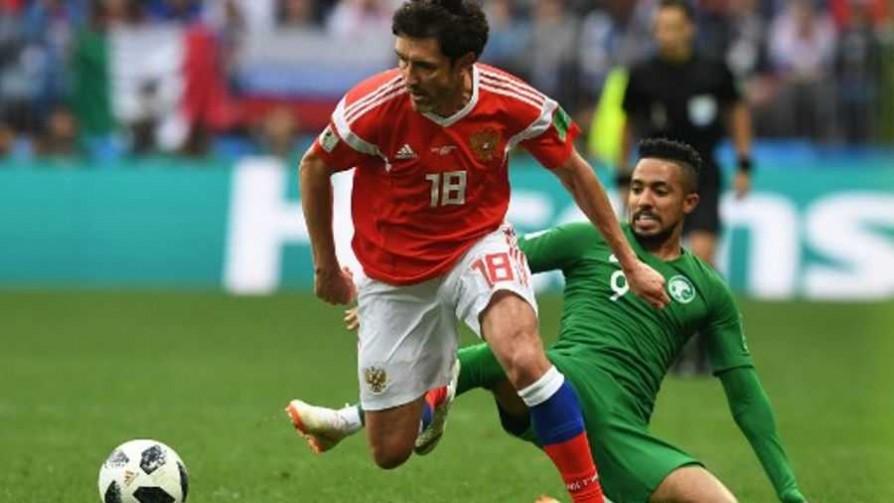 Rusia 5 - 0 Arabia Saudita  - Replay - 13a0 | DelSol 99.5 FM