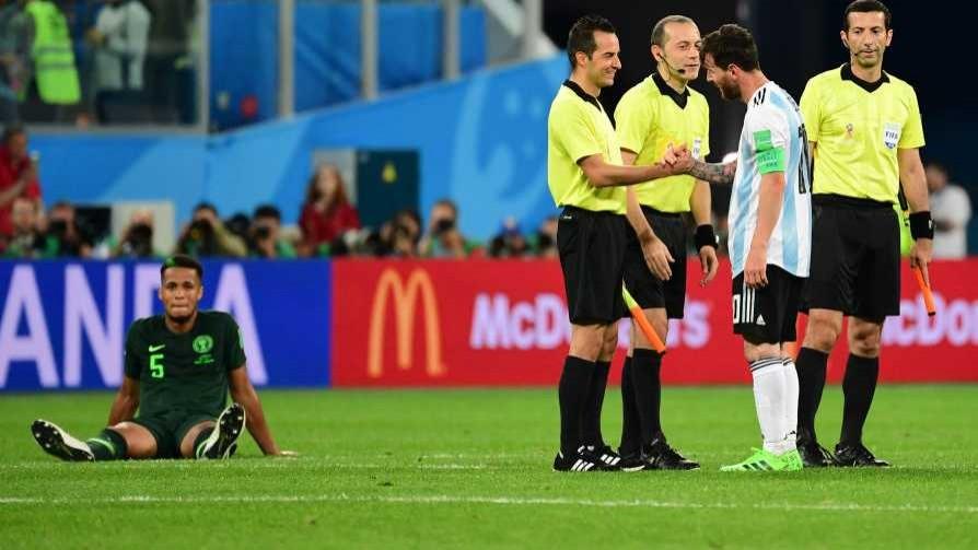 Darwin y las indicaciones que recibió de la FIFA el árbitro de Nigeria-Argentina - Darwin - Columna Deportiva - No Toquen Nada | DelSol 99.5 FM