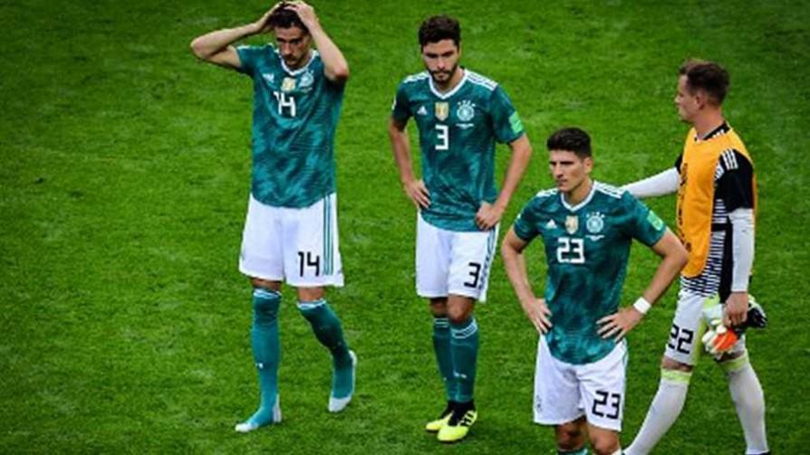 La eliminación de Alemania en el Mundial Rusia 2018 - Cambalache - La Mesa de los Galanes | DelSol 99.5 FM