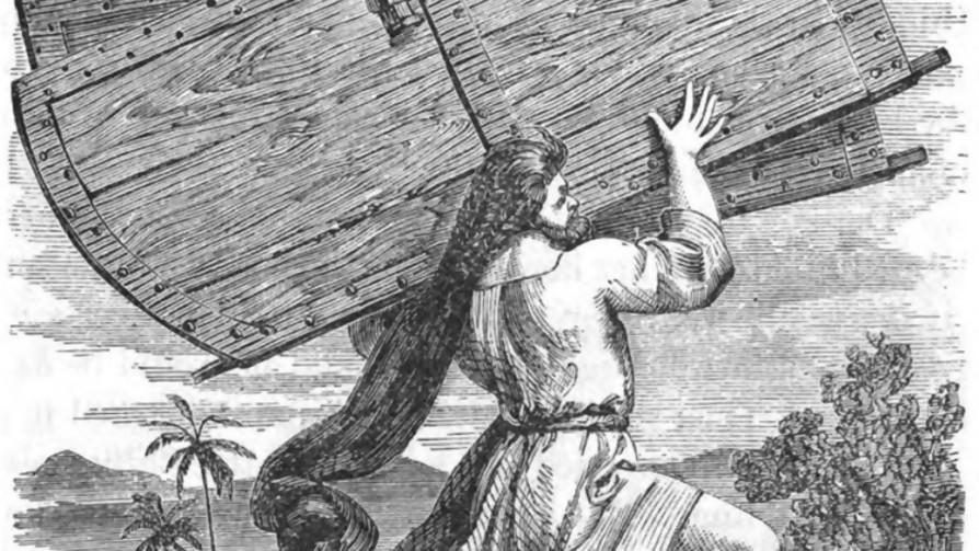 Sansón, el héroe musculoso de mítica cabellera - Segmento dispositivo - La Venganza sera terrible | DelSol 99.5 FM