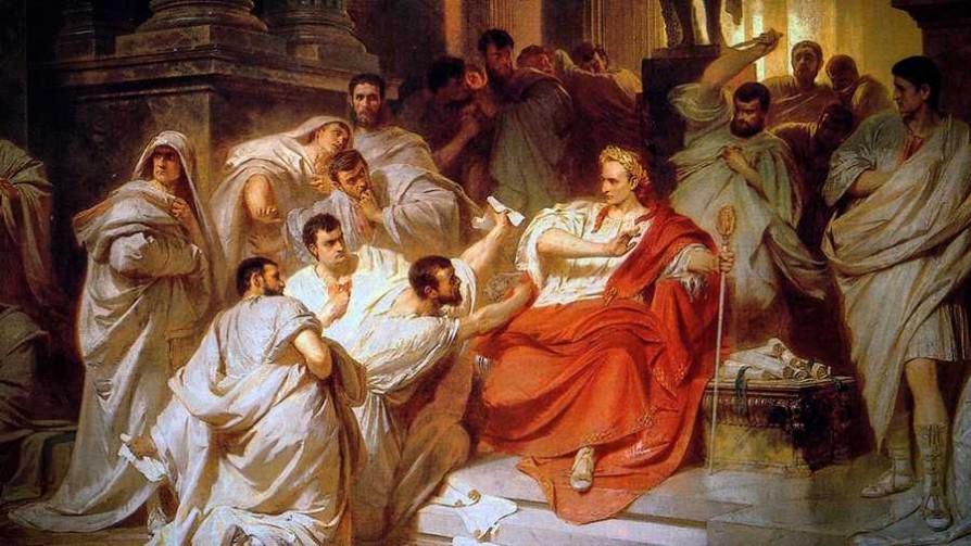 El asesinato de Julio César por el cobarde Marco Bruto - La historia en anecdotas - Facil Desviarse | DelSol 99.5 FM