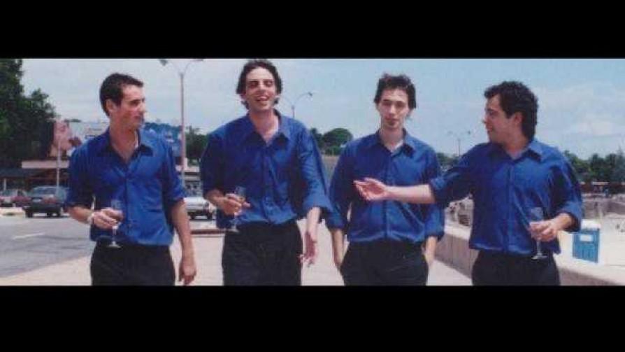 Darwin, el hijo de Carlitos Muñoz, el Enano Delgado: columna con los que fueron llegando - Darwin - Columna Deportiva - No Toquen Nada | DelSol 99.5 FM