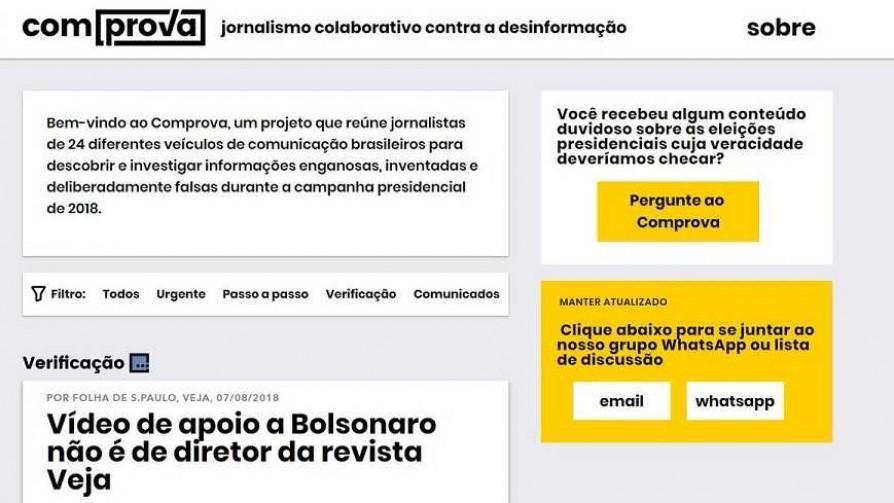 "Los medios de Brasil se unen contra las ""fake news"" - Denise Mota - No Toquen Nada | DelSol 99.5 FM"