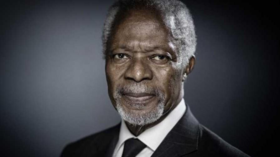 Murió Kofi Annan, exsecretario general de la ONU y Nobel de la Paz  - Cambalache - La Mesa de los Galanes | DelSol 99.5 FM