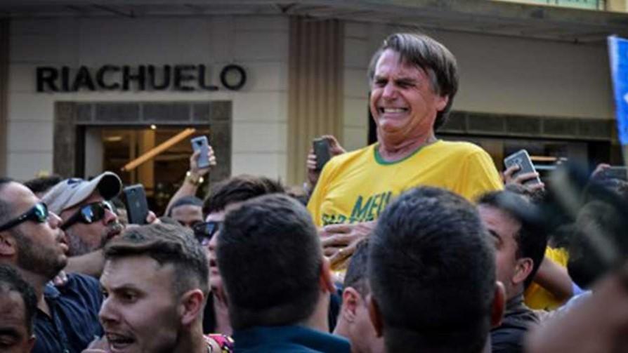 Ataque a Jair Bolsonaro - Cambalache - La Mesa de los Galanes   DelSol 99.5 FM
