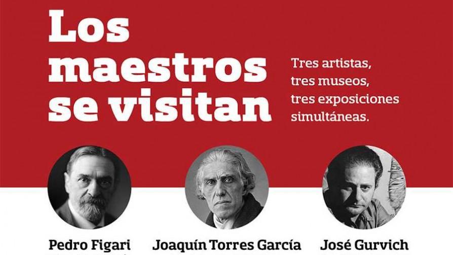 Torres García, Gurvich y Figari se visitan en una muestra - Audios - Quién te Dice | DelSol 99.5 FM