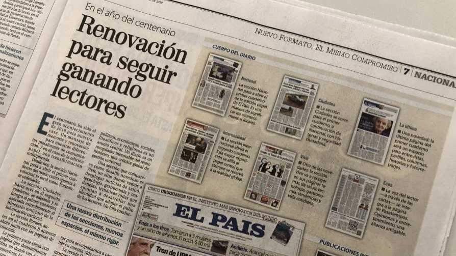 Darwin y la renovación de la edición en papel de El País que le vuela la cabeza a los jóvenes - Columna de Darwin - No Toquen Nada   DelSol 99.5 FM
