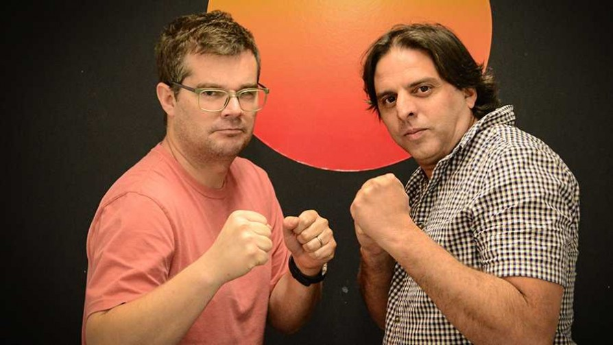 El reencuentro de viejos conocidos  - La batalla de los DJ - La Mesa de los Galanes | DelSol 99.5 FM