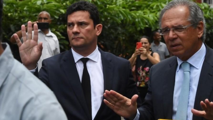 Moro y Guedes: el cerebro y los brazos de Bolsonaro - Denise Mota - No Toquen Nada | DelSol 99.5 FM