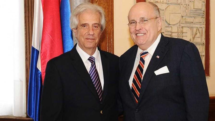 La visita de Rudolph Giuliani a Uruguay - Cambalache - La Mesa de los Galanes | DelSol 99.5 FM