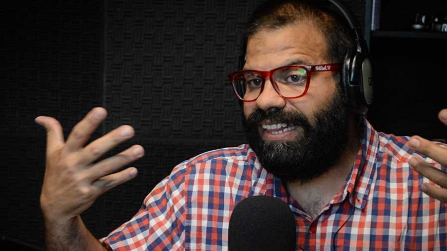 "El ""show del chiste"" de Campiglia y un chistólogo  - Edison Campiglia - La Mesa de los Galanes   DelSol 99.5 FM"