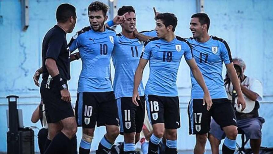 El triunfo de Uruguay ante Brasil en el Sudamericano Sub 20 - Titulares y suplentes - La Mesa de los Galanes | DelSol 99.5 FM
