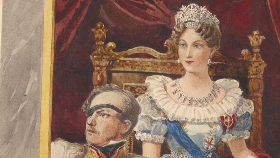 María Luisa de Habsburgo y el general von Neipperg - Segmento dispositivo - La Venganza sera terrible | DelSol 99.5 FM