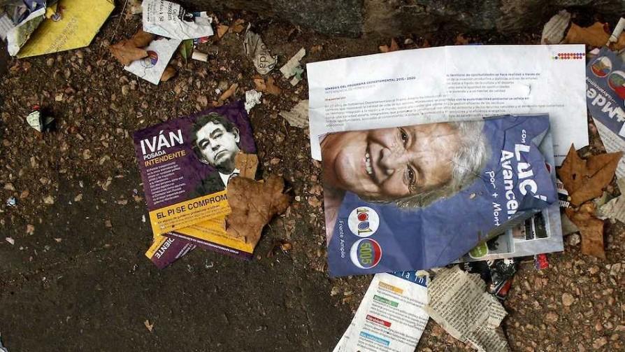Decile chau a la publicidad electoral - Entrevistas - Doble Click | DelSol 99.5 FM