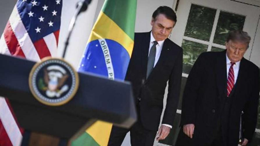 La reunión de Donald Trump y Jair Bolsonaro - Titulares y suplentes - La Mesa de los Galanes | DelSol 99.5 FM