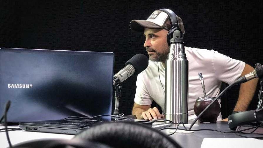 Salvador Banchero antes de su debut en El Espectador - Entrevistas - Locos x el Fútbol | DelSol 99.5 FM